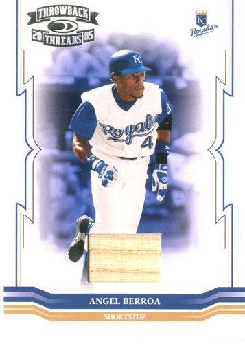 Photo of 2005 Throwback Threads Material Bat #4 Angel Berroa/250
