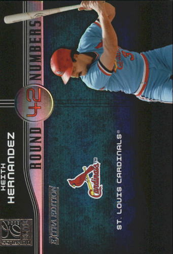 Photo of 2004 Donruss Elite Extra Edition Round Numbers #37 Keith Hernandez