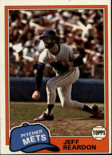 Photo of 1981 Topps #456 Jeff Reardon RC