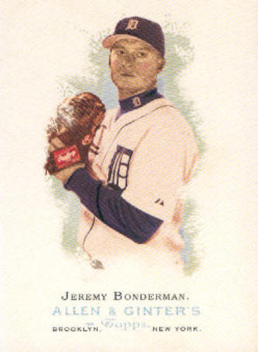 Photo of 2006 Topps Allen and Ginter #73 Jeremy Bonderman