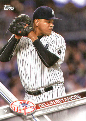 Photo of 2017 Yankees Topps #NYY5 Dellin Betances