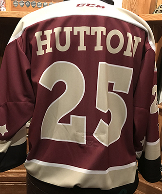 Dustin Hutton (#25) - Game-Worn Petes Alumni Homecoming Jersey