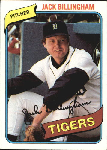 Photo of 1980 Topps #603 Jack Billingham DP