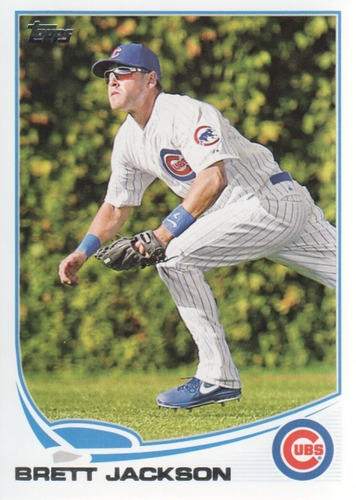 Photo of 2013 Topps #578 Brett Jackson