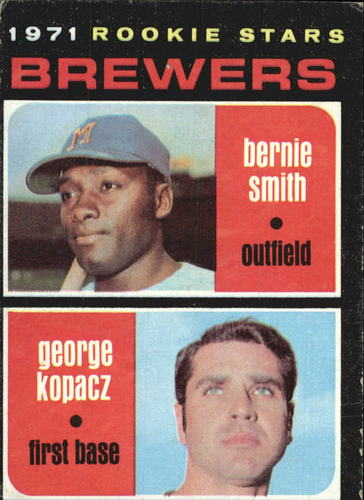 Photo of 1971 Topps #204 Rookie Stars/Bernie Smith RC/George Kopacz RC