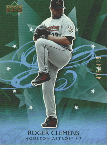 Photo of 2006 Upper Deck Future Stars Green #29 Roger Clemens /499