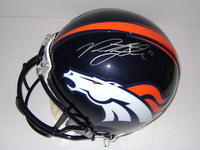 NFL - BRONCOS PAXTON LYNCH SIGNED BRONCOS PROLINE HELMET