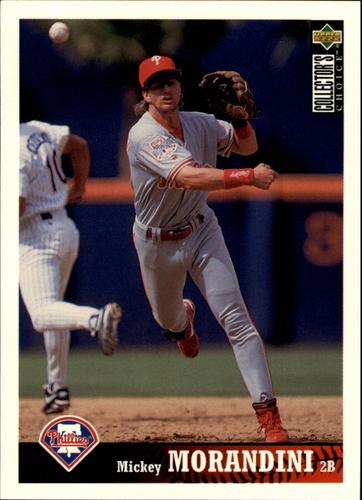 Photo of 1997 Collector's Choice #415 Mickey Morandini