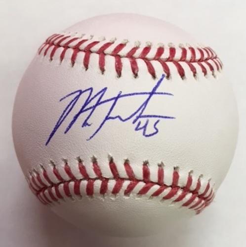 Mark Trumbo Autographed Baseball