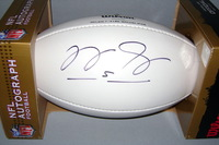 PATRIOTS - TIM TEBOW SIGNED PANEL BALL W/ PATRIOTS LOGO