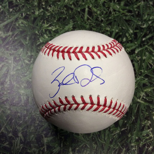 Photo of Zach Davies Autographed Baseball