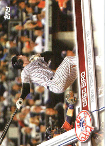 Photo of 2017 Yankees Topps #NYY7 Greg Bird