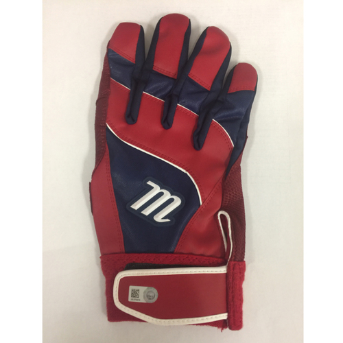 Photo of David Ortiz Autographed, Game-Used May 17, 2016 Batting Glove