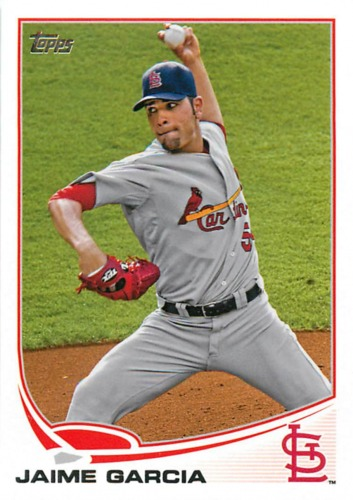 Photo of 2013 Topps #54 Jaime Garcia