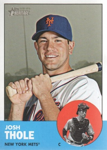 Photo of 2012 Topps Heritage #27 Josh Thole