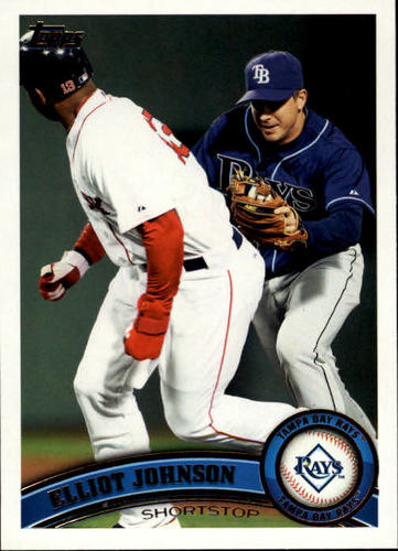Photo of 2011 Topps Update #US217 Elliot Johnson