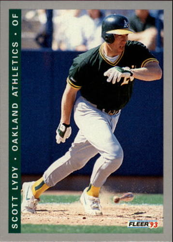 Photo of 1993 Fleer Final Edition #256 Scott Lydy RC