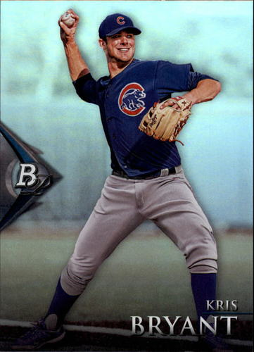 Photo of 2014 Bowman Platinum Prospects #BPP40 Kris Bryant