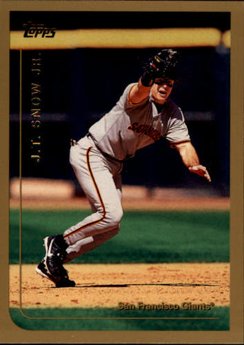 Photo of 1999 Topps #127 J.T. Snow