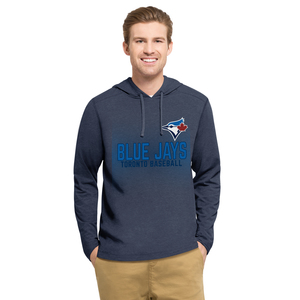 Mid Range Fleece Hoody Blue by '47 Brand