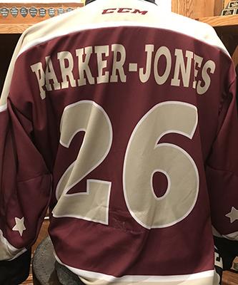 John Parker-Jones (#26) - Petes Alumni Homecoming Jersey