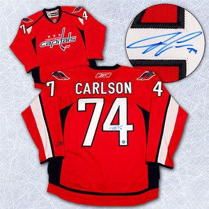 John Carlson Washington Capitals Autographed Reebok Premier Hockey Jersey