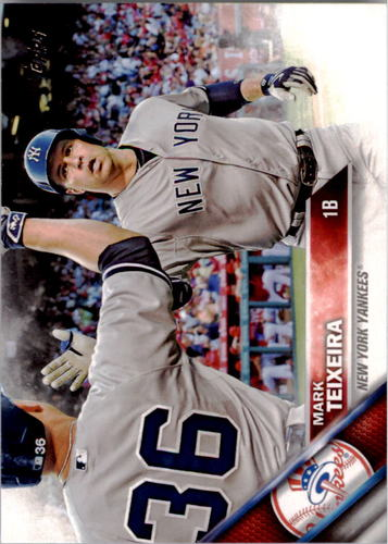 Photo of 2016 Topps #204 Mark Teixeira