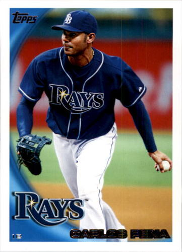 Photo of 2010 Topps #495 Carlos Pena