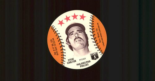 Photo of 1976 Isaly Discs #10 Steve Carlton