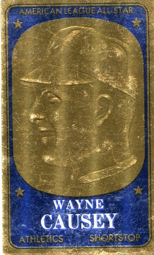 Photo of 1965 Topps Embossed #21 Wayne Causey