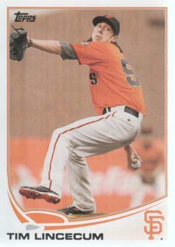 Photo of 2013 Topps #55A Tim Lincecum