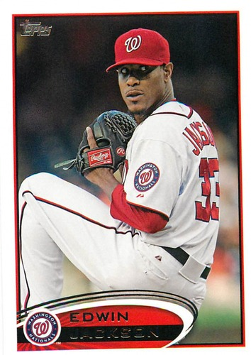 Photo of 2012 Topps Update #US60 Edwin Jackson