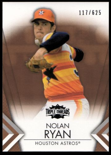 Photo of 2012 Topps Triple Threads Sepia #54 Nolan Ryan