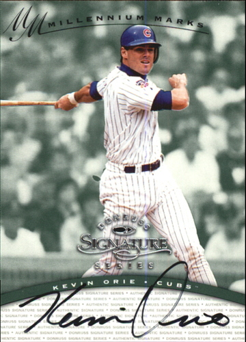 Photo of 1997 Donruss Signature Autographs Millennium #93 Kevin Orie