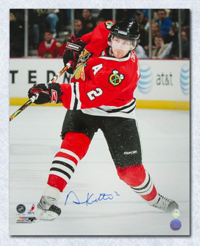 Duncan Keith Chicago Blackhawks Autographed 16x20 Photo