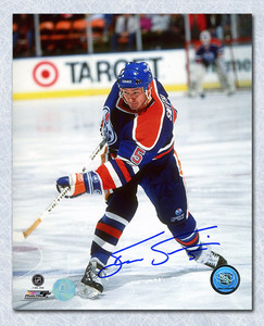 STEVE SMITH Edmonton Oilers Autographed 8x10 Photo