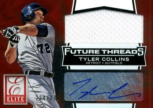 Photo of 2015 Elite Future Threads Signatures #22 Tyler Collins/299