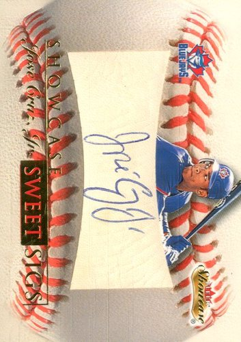 Photo of 2000 Fleer Showcase Sweet Sigs #SS7 Jose Cruz Jr.