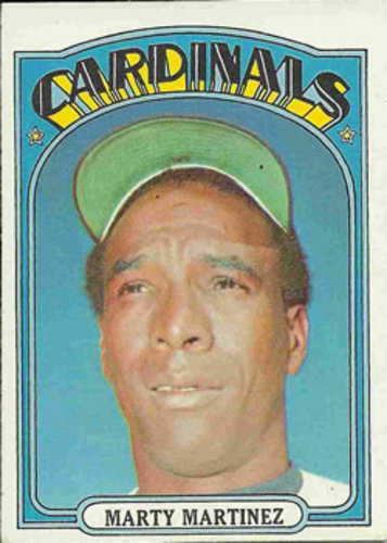Photo of 1972 Topps #336 Marty Martinez