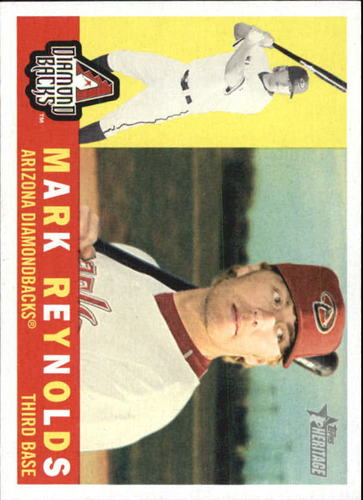 Photo of 2009 Topps Heritage #231 Mark Reynolds