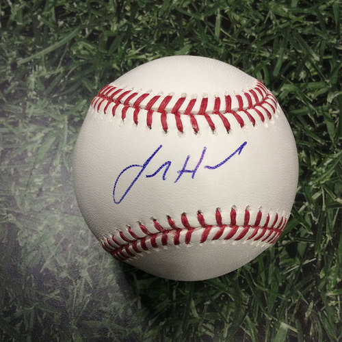 Photo of Josh Hader Autographed Baseball