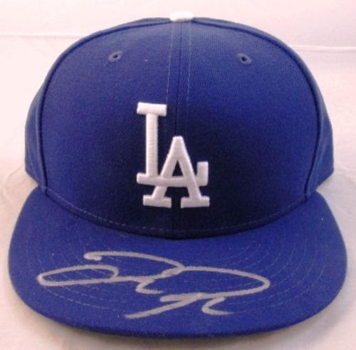 Photo of Joc Pederson Autographed Blue Dodgers Ballcap
