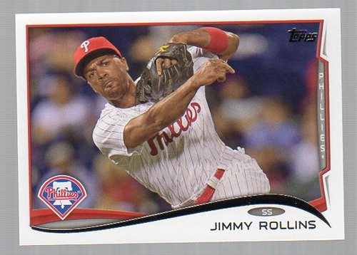 Photo of 2014 Topps #312 Jimmy Rollins