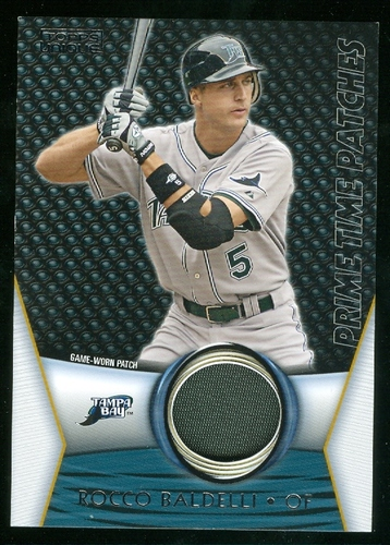 Photo of 2009 Topps Unique Primetime Patches #PTP101 Rocco Baldelli/99