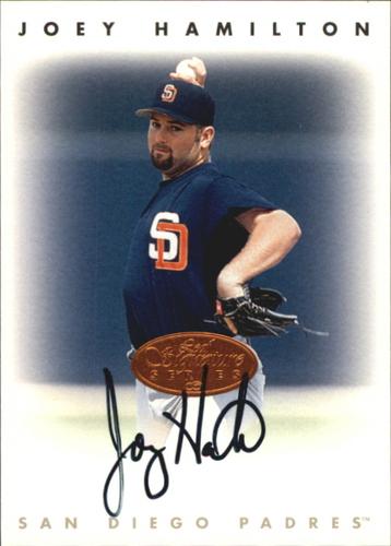 Photo of 1996 Leaf Signature Autographs #90 Joey Hamilton