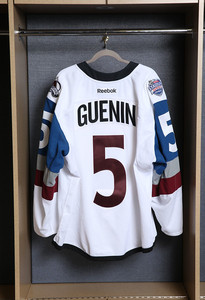 Nate Guenin Colorado Avalanche Game Issued Stadium Series Jersey