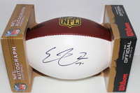 NFL - BILLS ERIC WOOD SIGNED PANEL BALL