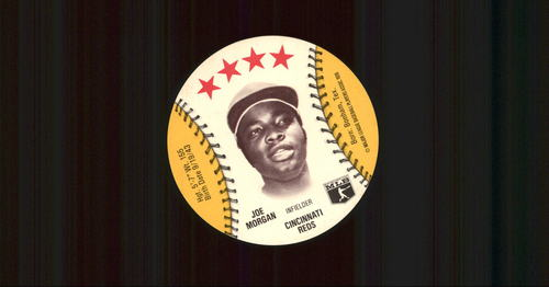 Photo of 1976 Isaly Discs #40 Joe Morgan