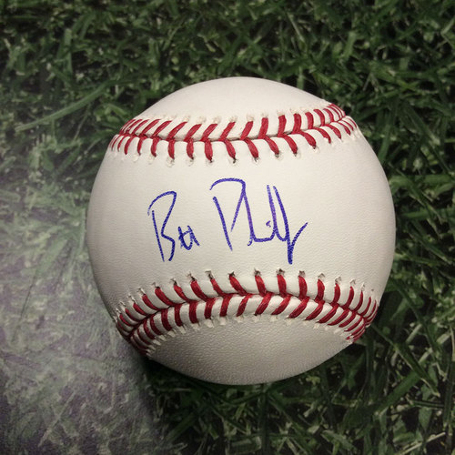 Photo of Brett Phillips Autographed Baseball