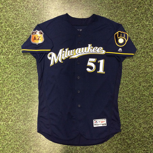 Photo of Damien Magnifico 2017 Spring Training Jersey